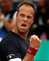 18-07-2004, Amersfoort, Tennis, Priority Dutch Open, Martin Verkerk in zijn partij tegen Gonzalez