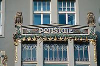 Tschechien, Prag, Jugendstilhaus Pojistaje, Unesco-Weltkulturerbe
