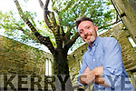 Tom Dillon with the Yew tree in Muckross Abbey Killarney