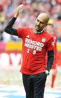 Pep Guardiola <br /> Monaco 23.05.2015, Allianz Arena<br /> Bundesliga Bayern Monaco Campione di Germania 2014/2015 <br /> Foto EXPA/ Eibner-Pressefoto/ Insidefoto