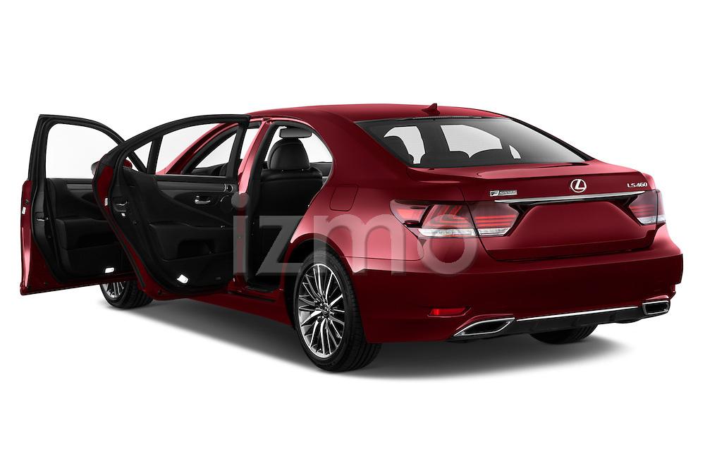 Car images of 2017 Lexus LS 460-Sport 4 Door Sedan Doors