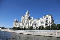 Kotelnicheskaya Embankment Building - 15.06.2018: Sightseeing Moskau
