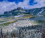 Clearing storm, Cimmaron Ridge, Uncompahgre National Forest, Colorado