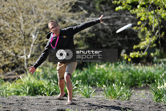 NELSON, NEW ZEALAND - SEPTEMBER 27: Dsic Golf at Isel Park Club during the NZCT South Island Masters Games, 27 September 2015, Nelson, New Zealand<br /> Photo: Chris Conroy/shuttersport.co.nz
