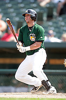 August 9, 2009: Justin Parker of the South Bend Silver Hawks at Covelski Stadium in South Bend, IN. The Silver Hawks are the Low class affiliate of the Arizona Diamondbacks  Photo by: Chris Proctor/Four Seam Images