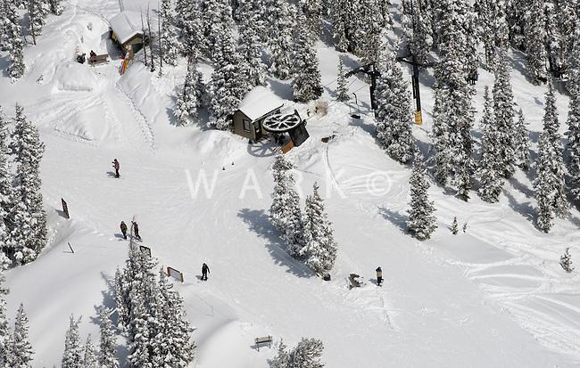 Monarch Ski Area. April 4, 2014