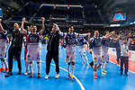 R. Renov. Zaragoza celebrating the victory during Futsal Spanish Cup 2018 at Wizink Center in Madrid , Spain. March 16, 2018. (ALTERPHOTOS/Borja B.Hojas)