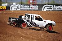 Apr 15, 2011; Surprise, AZ USA; LOORRS driver Corey Sisler (19) during round 3 and 4 at Speedworld Off Road Park. Mandatory Credit: Mark J. Rebilas-.
