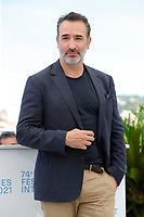 """CANNES, FRANCE - JULY 17: Jean Dujardin at photocall for the film """"OSS 117 : Alerte Rouge en Afrique Noire"""" (OSS 117 : From Africa With Love) at the 74th annual Cannes Film Festival in Cannes, France on July 17, 2021 <br /> CAP/GOL<br /> ©GOL/Capital Pictures"""