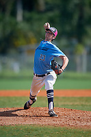 Jack Snyder (23) during the WWBA World Championship at Terry Park on October 11, 2020 in Fort Myers, Florida.  Jack Snyder, a resident of West Hills, California who attends Notre Dame High School, is committed to Texas Tech.  (Mike Janes/Four Seam Images)