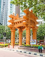 Brickfields Arch, Kuala Lumpur, Malaysia.