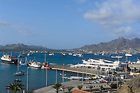 Fähranleger, Hafenbucht von Mindelo, Sao Vicente, Kapverden, Afrika