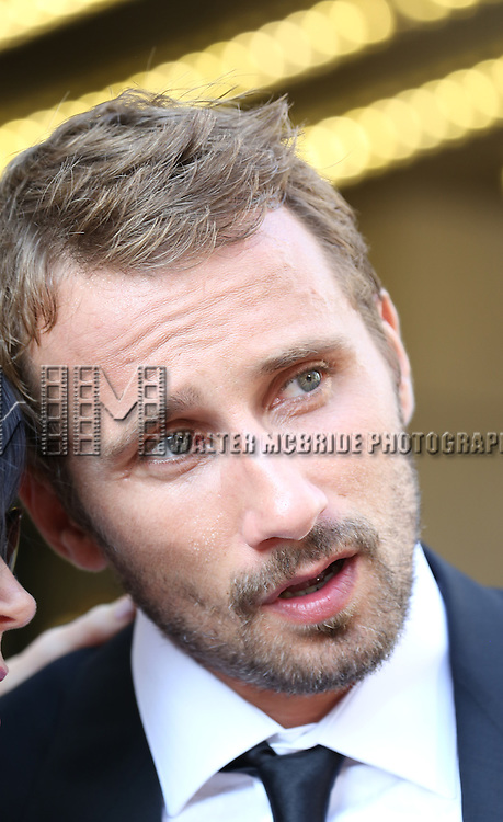 Matthias Schoenaerts attends the 'The Drop' premiere during the 2014 Toronto International Film Festival at Princess of Wales Theatre on September 5, 2014 in Toronto, Canada.