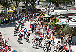 The start of Stage 16 of the 2019 Tour de France running 177km from Nimes to Nimes, France. 23rd July 2019.<br /> Picture: ASO/Alex Broadway   Cyclefile<br /> All photos usage must carry mandatory copyright credit (© Cyclefile   ASO/Alex Broadway)