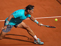 France, Paris, 08.06.2014. Tennis, French Open, Roland Garros, Final men: Rafael Nadal (ESP)<br /> Photo:Tennisimages/Henk Koster