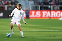WASHINGTON, DC - MARCH 07: Rodolfo Pizarro #10 of Inter Miami CF moves the ball during a game between Inter Miami CF and D.C. United at Audi Field on March 07, 2020 in Washington, DC.