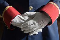 Europe/France/Provence-Alpes-Côte d'Azur/06/Alpes-Maritimes/Nice:  Hôtel: Le Négresco- détail costume du Voiturier