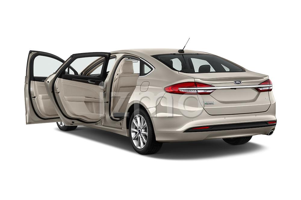 Car images of 2017 Ford Fusion Energi Plug-In Hybrid SE Luxury 4 Door Sedan Doors