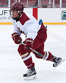 Michael Kim (BC - 4) - The Boston College Eagles practiced on the rink at Fenway Park on Friday, January 6, 2017.