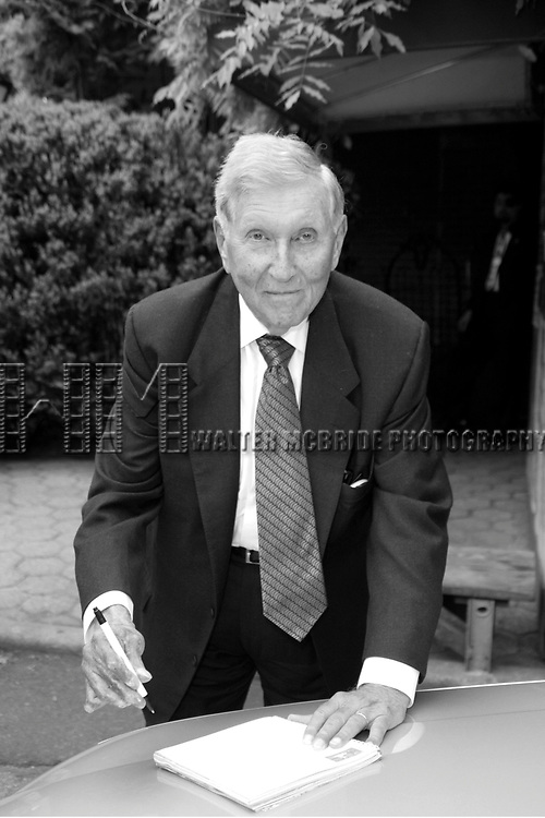 Sumner Redstone at the 2003 CBS Network Upfront at  Tavern on the Green in New York City on May 14, 2003.