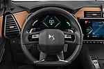 Car pictures of steering wheel view of a 2021 Ds DS-7-Crossback Rivoli 5 Door SUV Steering Wheel