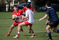 Action from the Canterbury Under-16 rugby match between Christchurch Boys' High School  and Hornby Vikings at Christchurch BHS in Christchurch, New Zealand on Saturday, 5 September 2020. Photo: Joe Johnson / lintottphoto.co.nz
