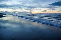 Sunrise at Emerald Isle on Bouge Banks off the coast of North Carolina