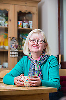 DAILY MAIL LETTERS PAGE <br /> Thursday 20 April 2017<br /> Pictured: Sandra Thompson pictured at her house in Pontardawe, Swansea, Wales, UK