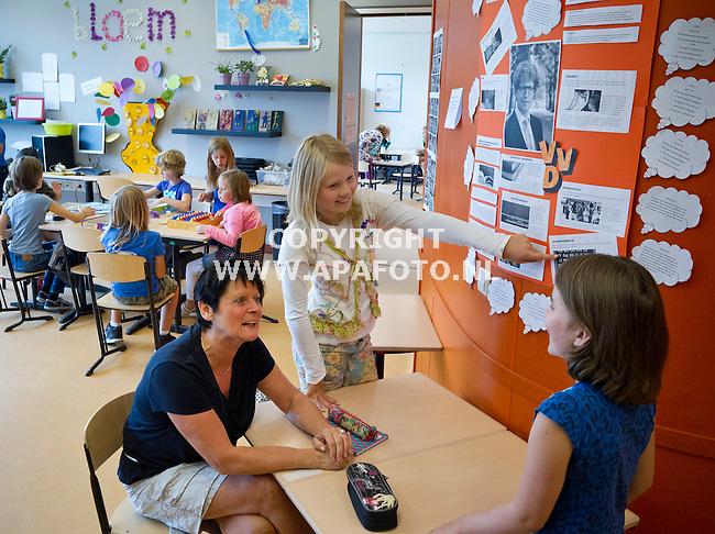 Lent, 030913<br /> Carla van der Bos van de Excelente school, <br /> Foto: Sjef Prins - APA Foto