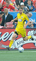 Eddie Gaven (12) in action at  BMO Field on Saturday September 13, 2008. .The game ended in a 1-1 draw.