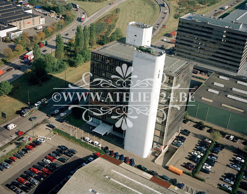 Oktober 1997. Gebouw Ahlers in de Haven van Antwerpen.