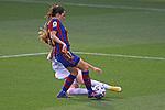 Liga IBERDROLA 2020-2021. Jornada: 18.<br /> FC Barcelona vs R. Madrid: 4-1.<br /> Andrea Pereira vs Olga Carmona.