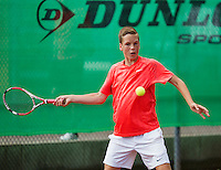 August 9, 2014, Netherlands, Rotterdam, TV Victoria, Tennis, National Junior Championships, NJK,  Stijn Janssen (NED)<br /> Photo: Tennisimages/Henk Koster