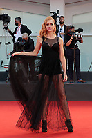 VENICE, ITALY - SEPTEMBER 04: Yvonne Scio walks the red carpet ahead of the movie Padrenostro at the 77th Venice Film Festival at on September 04, 2020 in Venice, Italy. PUBLICATIONxNOTxINxUSA Copyright: xAnnalisaxFlori/MediaPunchx<br /> ITALY ONLY