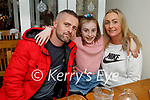 Joseph O'Connor, Keeley and Nicole Wrenn enjoying the evening in Bella Bia on Saturday.