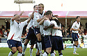22/09/2007       Copyright Pic: James Stewart.File Name : sct_jspa10_falkirk_v_motherwell.RUSSELL LATAPY IS CONGRATULATED AFTER SCORING FALKIRK'S GOAL....James Stewart Photo Agency 19 Carronlea Drive, Falkirk. FK2 8DN      Vat Reg No. 607 6932 25.Office     : +44 (0)1324 570906     .Mobile   : +44 (0)7721 416997.Fax         : +44 (0)1324 570906.E-mail  :  jim@jspa.co.uk.If you require further information then contact Jim Stewart on any of the numbers above........