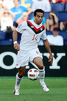 Dwayne De Rosario Canada in action...Canada and Panama tied 1-1 in Gold Cup play at LIVESTRONG Sporting Park, Kansas City, Kansas.