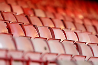 Empty seats in the stand during Crawley Town vs Leyton Orient, Papa John's Trophy Football at The People's Pension Stadium on 5th October 2021