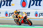 Repsol Honda Team's rider Dani Pedrosa of Spain rides during the MotoGP Official Test at Chang International Circuit on 18 February 2018, in Buriram, Thailand. Photo by Kaikungwon Duanjumroon / Power Sport Images