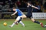 Dundee v St Johnstone…29.12.18…   Dens Park    SPFL<br />Matty Kennedy's shot is saved by Jack Hamilton<br />Picture by Graeme Hart. <br />Copyright Perthshire Picture Agency<br />Tel: 01738 623350  Mobile: 07990 594431