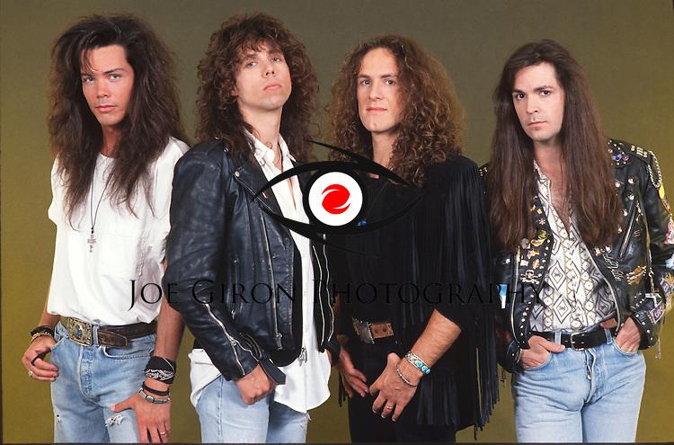 Various portrait sessions of rock guitarist Vivian Campbell
