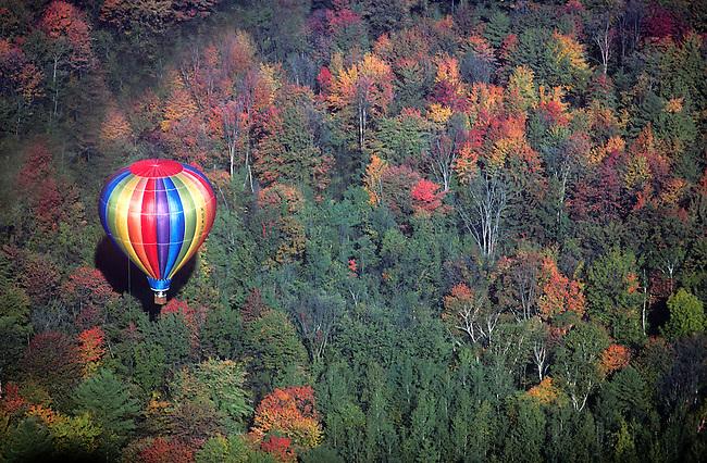 Hot Air Balloon Festival, Glens Falls, New York