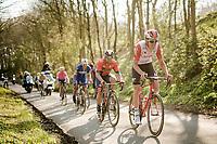 Tiesj Benoot (BEL/Lotto-Soudal) up the Karnemelkbeekstraat<br /> <br /> 62nd E3 BinckBank Classic (Harelbeke) 2019 <br /> One day race (1.UWT) from Harelbeke to Harelbeke (204km)<br /> <br /> ©kramon