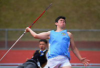 2020 McEvedy Shield college athletics tournament at Newtown Park in Wellington, New Zealand on Tuesday, 3 March 2020. Photo: Dave Lintott / lintottphoto.co.nz