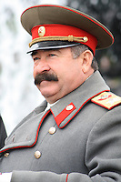 Stalin Impersonator in Red Square, Moscow