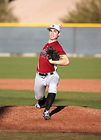 Brandon Birdsell takes part in the 2016 Under Armour Pre-Season All-America Tournament at the Chicago Cubs training complex on January 16-17, 2016 in Mesa, Arizona (Bill Mitchell)