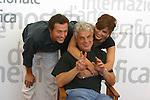 04 settembre 2002.Mostra Internazionale d'Arte Cinematografica di Venezia, Venice International Film Festival, Laura Morante,Stefano Accorsi, Michele Placido