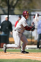 February 21, 2009:  First baseman Nick O'Shea (23) of the University of Minnesota during the Big East-Big Ten Challenge at Jack Russell Stadium in Clearwater, FL.  Photo by:  Mike Janes/Four Seam Images