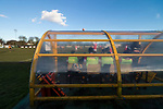 Rushall Olympic 1 Workingon 0, 17/02/2018. Dales Lane, Northern Premier League Premier Division. View from behind the Rushall dugout. Photo by Paul Thompson. Rushall Olympic 1 Workingon 0, Northern Premier League Premier Division, 17th February 2018. Rushall is a former mining village now part of the northern suburbs of Walsall.