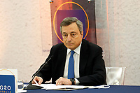20211012 Mario Draghi in conferenza stampa sull'Afghanistan